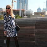 Maternity Style: Seraphine Graphic Dress
