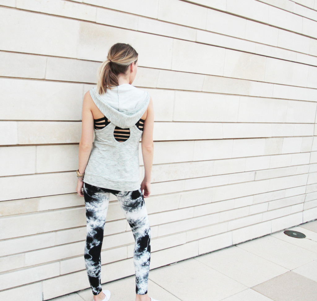 criss cross back vest