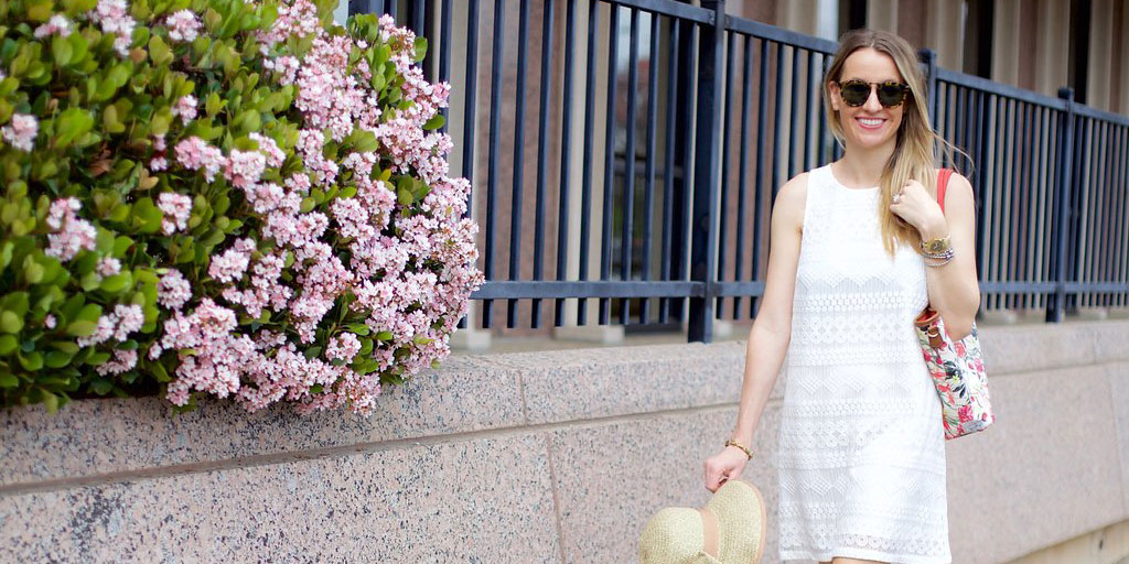Lace Dress for Spring