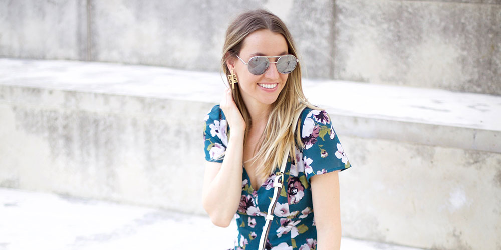 Floral Rompers for Spring