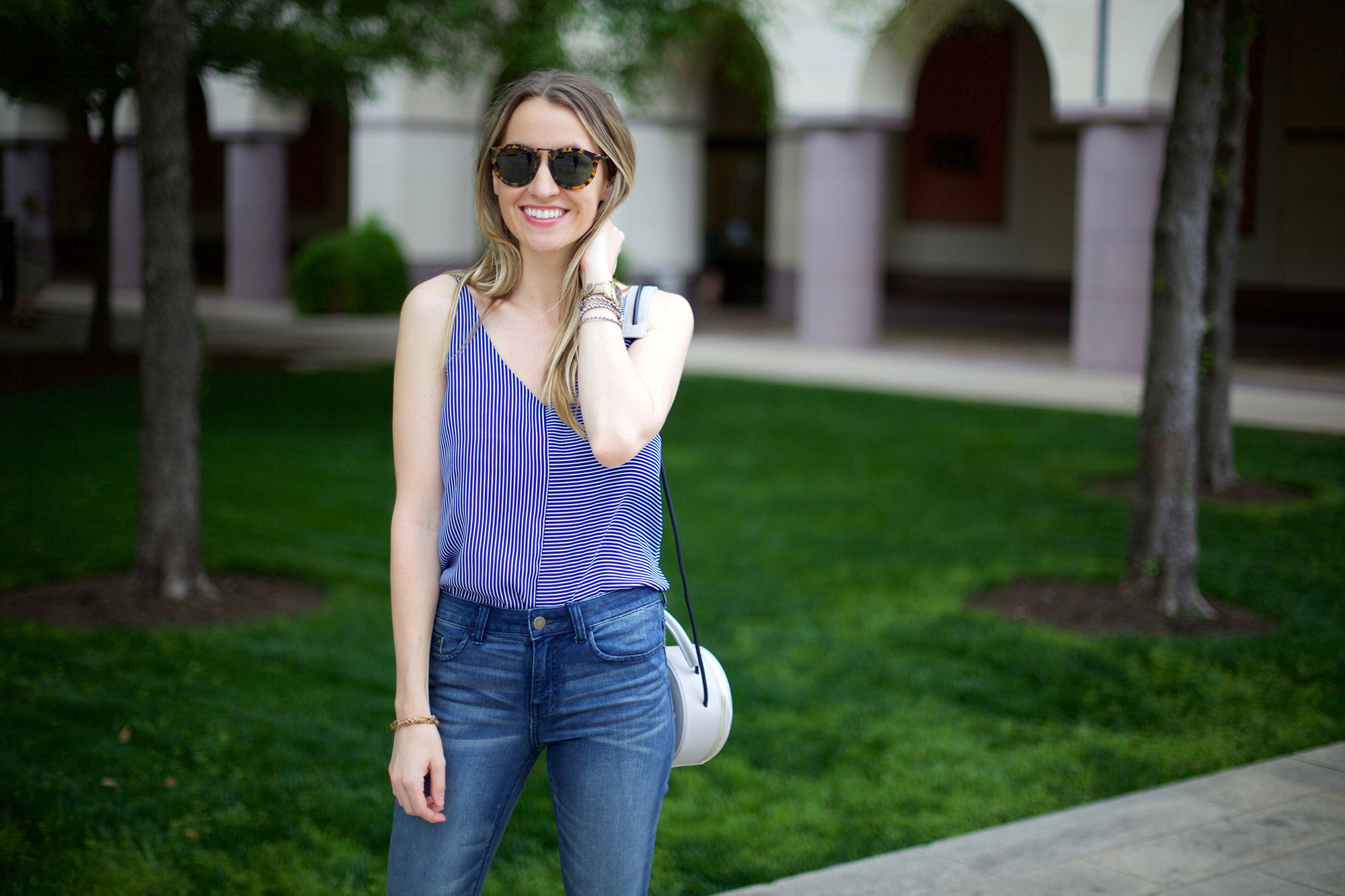 Striped Camisole and Flares