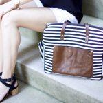 Seaport Stitches Diaper Bag