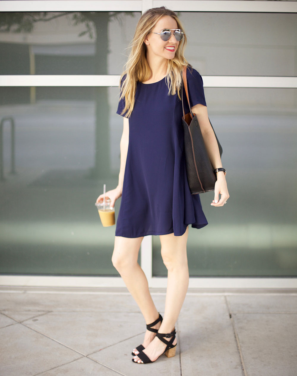 easy shift dress