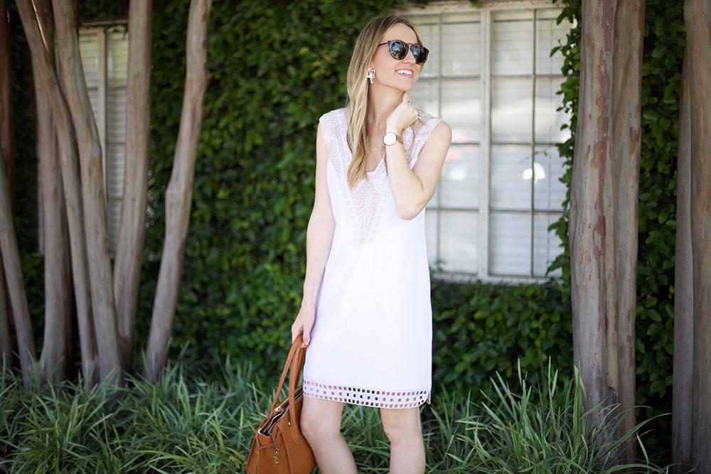 Ella Moss Eyelet Dress