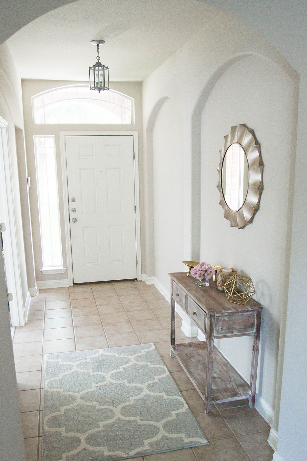 style an entryway