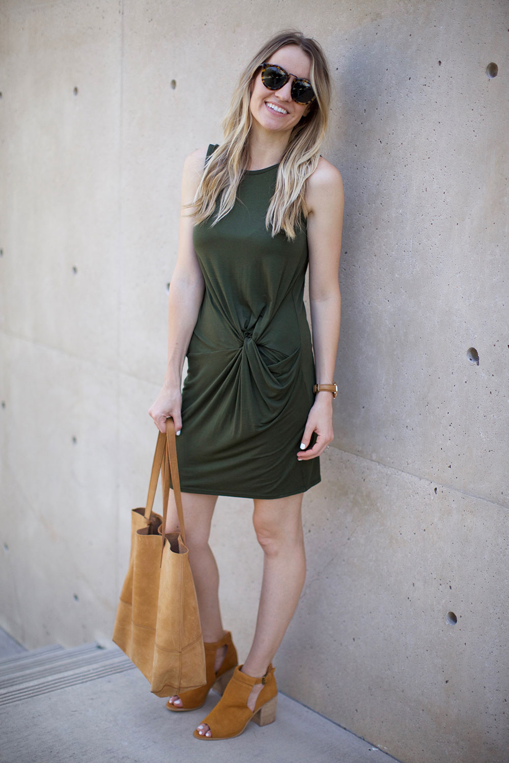 knotted dress