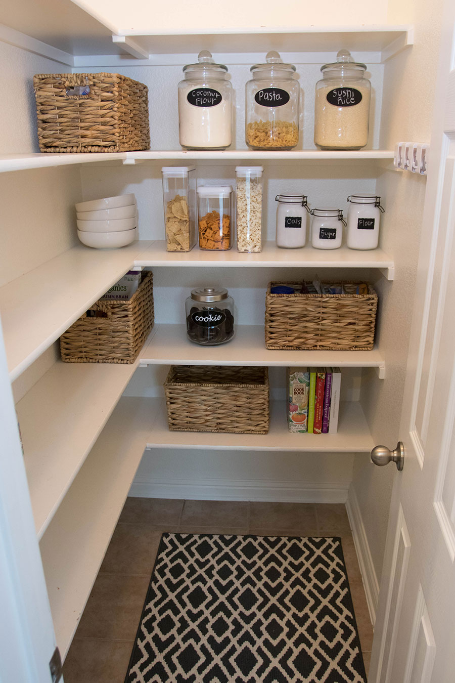 Pantry Organization Tips With At Home Stores Life By Lee