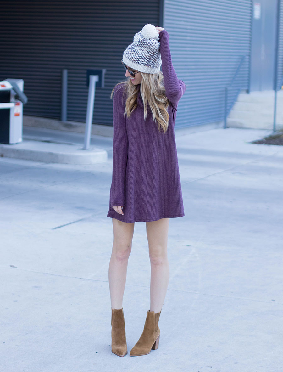 How To Style A Turtleneck Sweater Dress