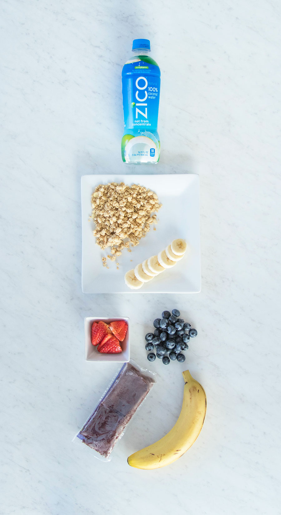Easy Acai Bowl Recipe with Coconut Water by Austin blogger Life By Lee