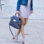 Comfy Shift Dress & A Classic Denim Jacket