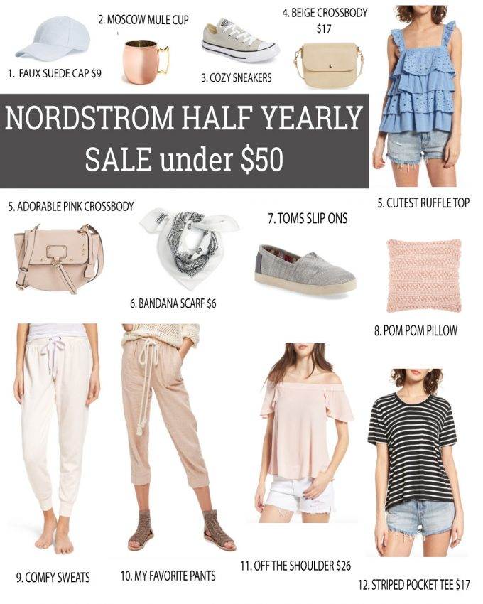 Nordstrom Half Yearly Sale Under $50