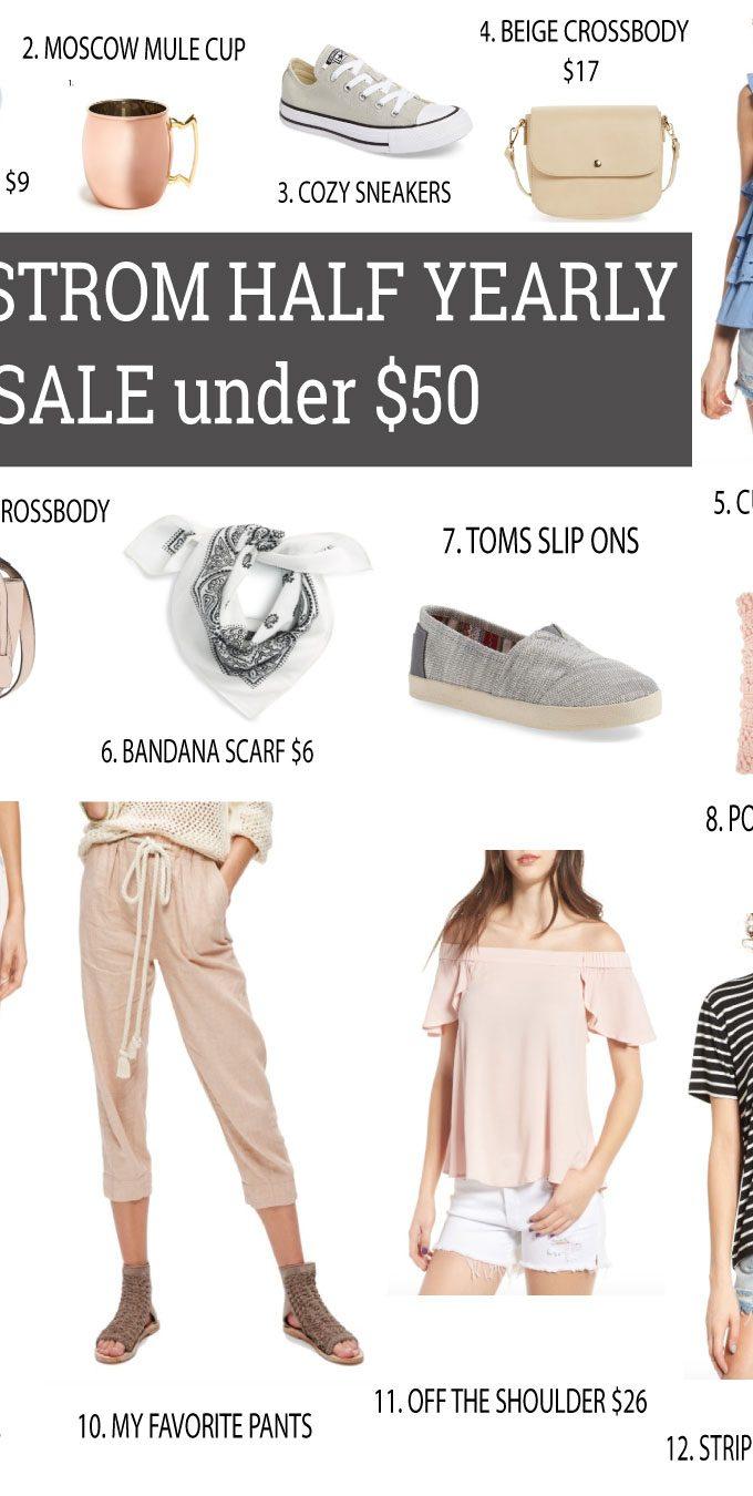Nordstrom Half Yearly Sale Under $50