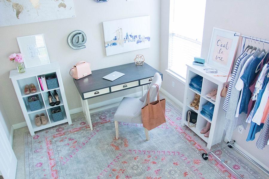 desk home office 2017. home office tour desk 2017