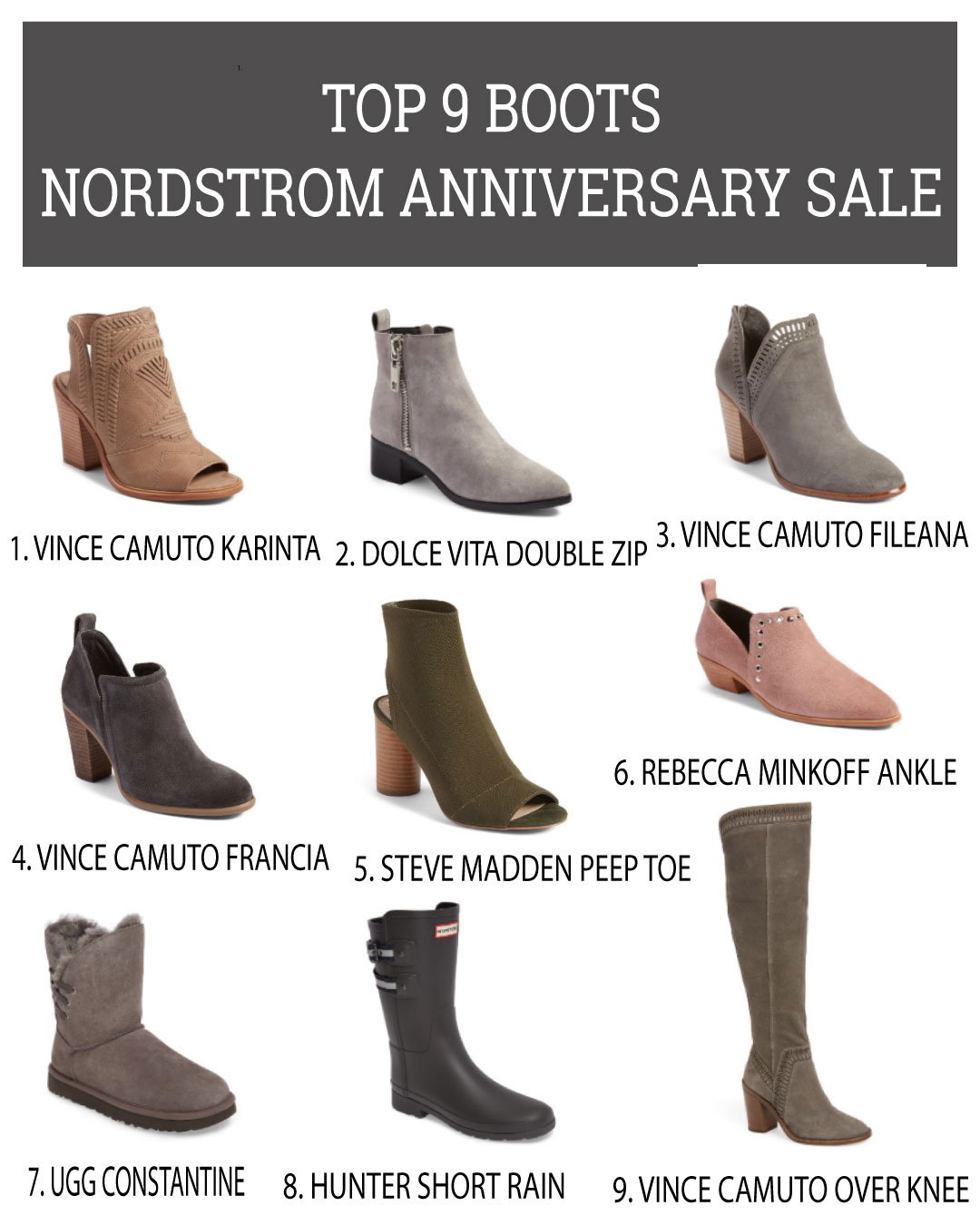 2017 Nordstrom Anniversary Sale Best Boots- Life By Lee