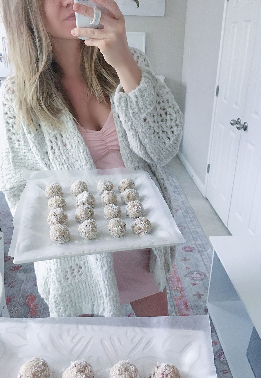 coconut and almond butter energy balls recipe