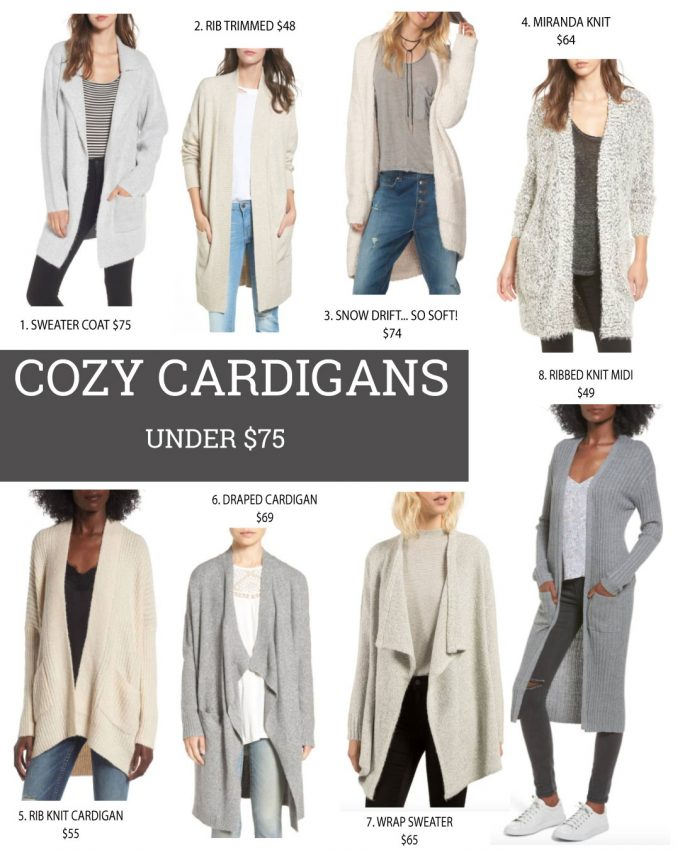 The Best Comfy Cardigans For Fall Under $75