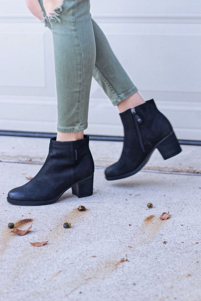 Must Have Comfy Black Booties & Slowing Down