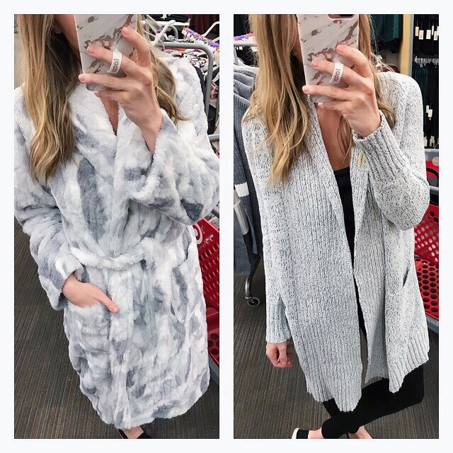 574f66aded What if I told you I found Barefoot Dreams for less  Basically what I m  saying here is I found a cardigan and a robe (pictured above) that are  super similar ...