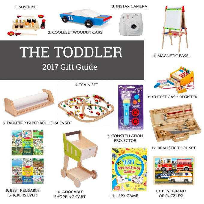 Holiday Gift Guide for The Toddler