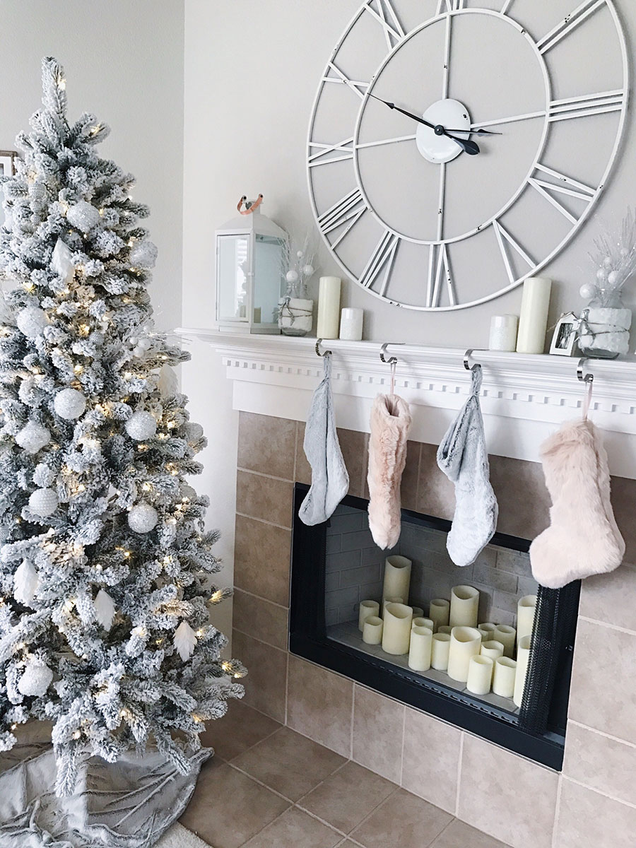 Blush Pink Christmas Decor And Christmas Pajamas Life By Lee