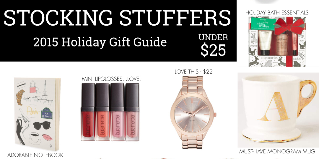Gift Guide: Stocking Stuffers Under $25