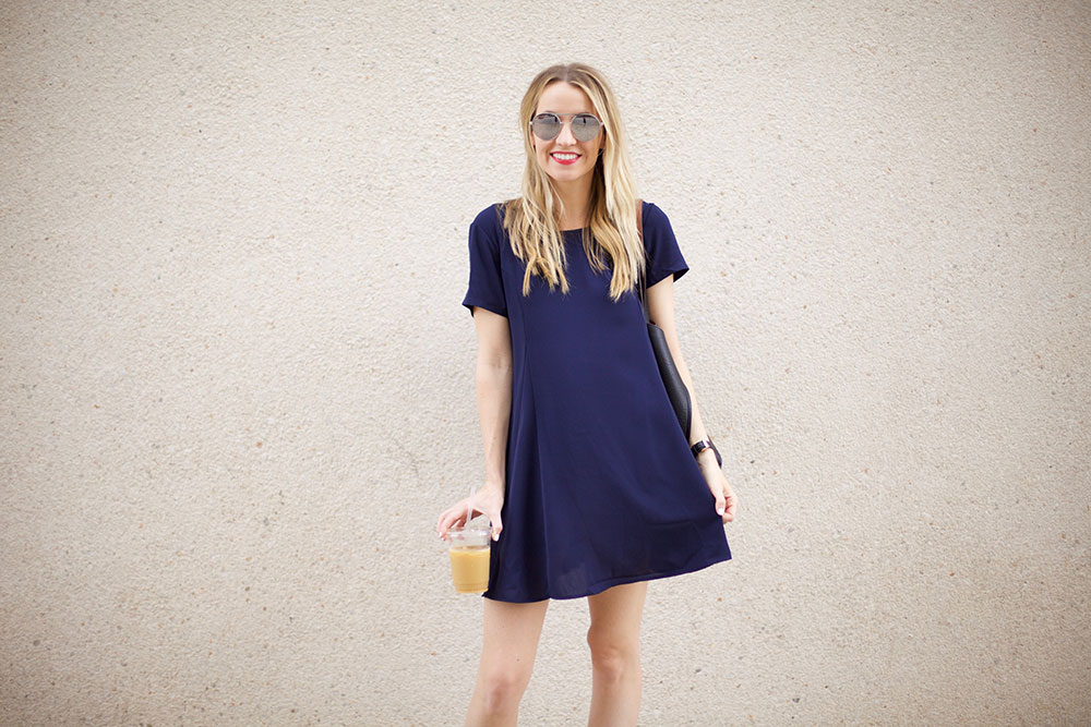 easy shift dress