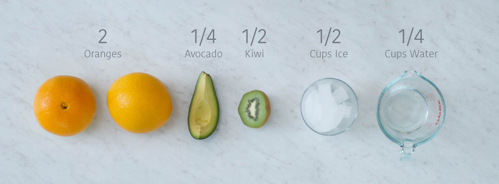 avocado mocktail