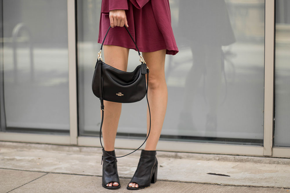 Bell Sleeve Dress & The Perfect Crossbody Bag
