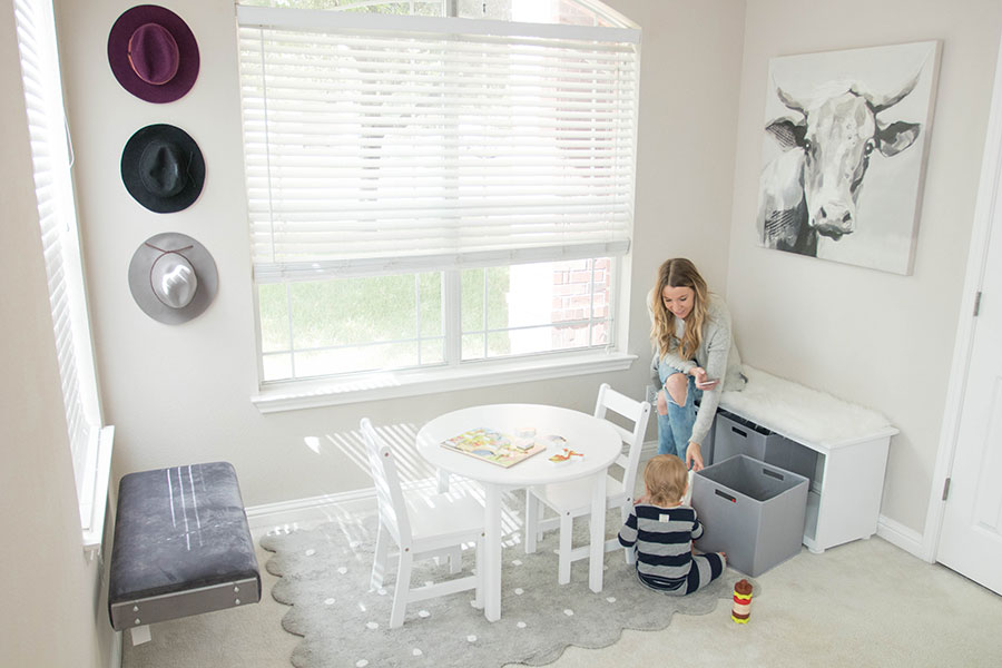 work at home mom office