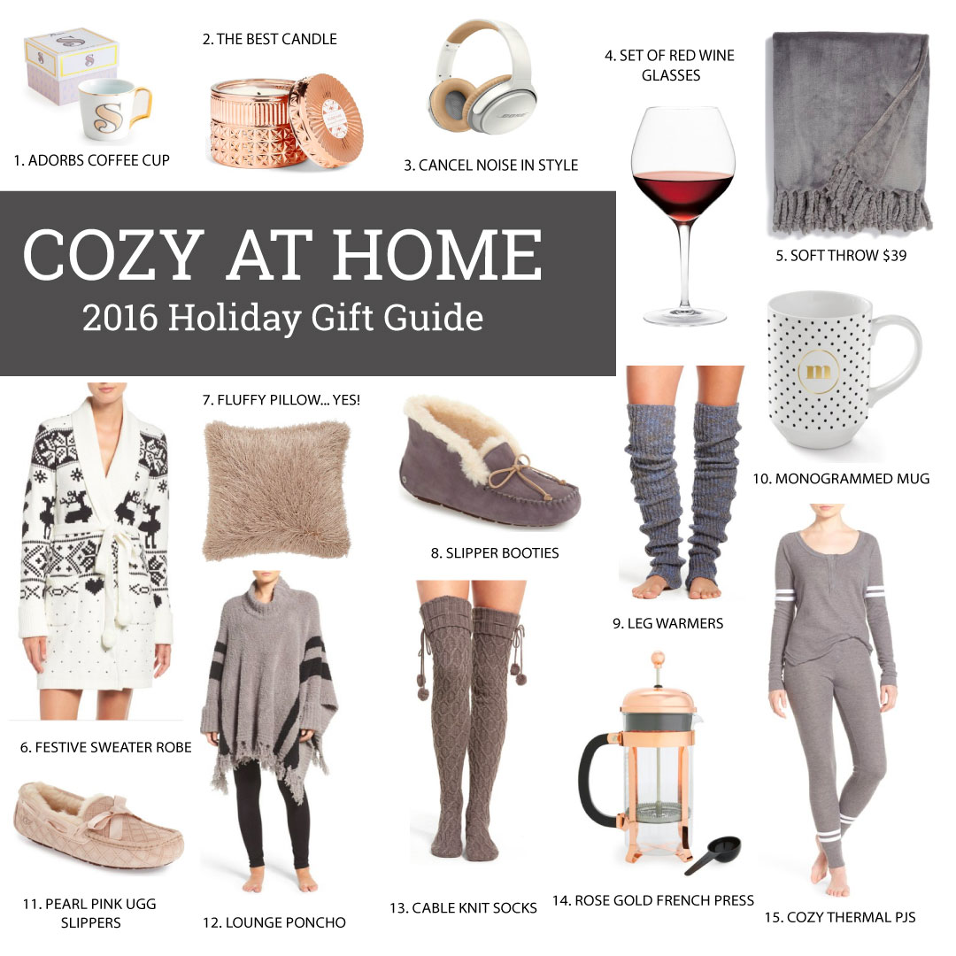 GIFT GUIDE: COZY AT HOME 2016