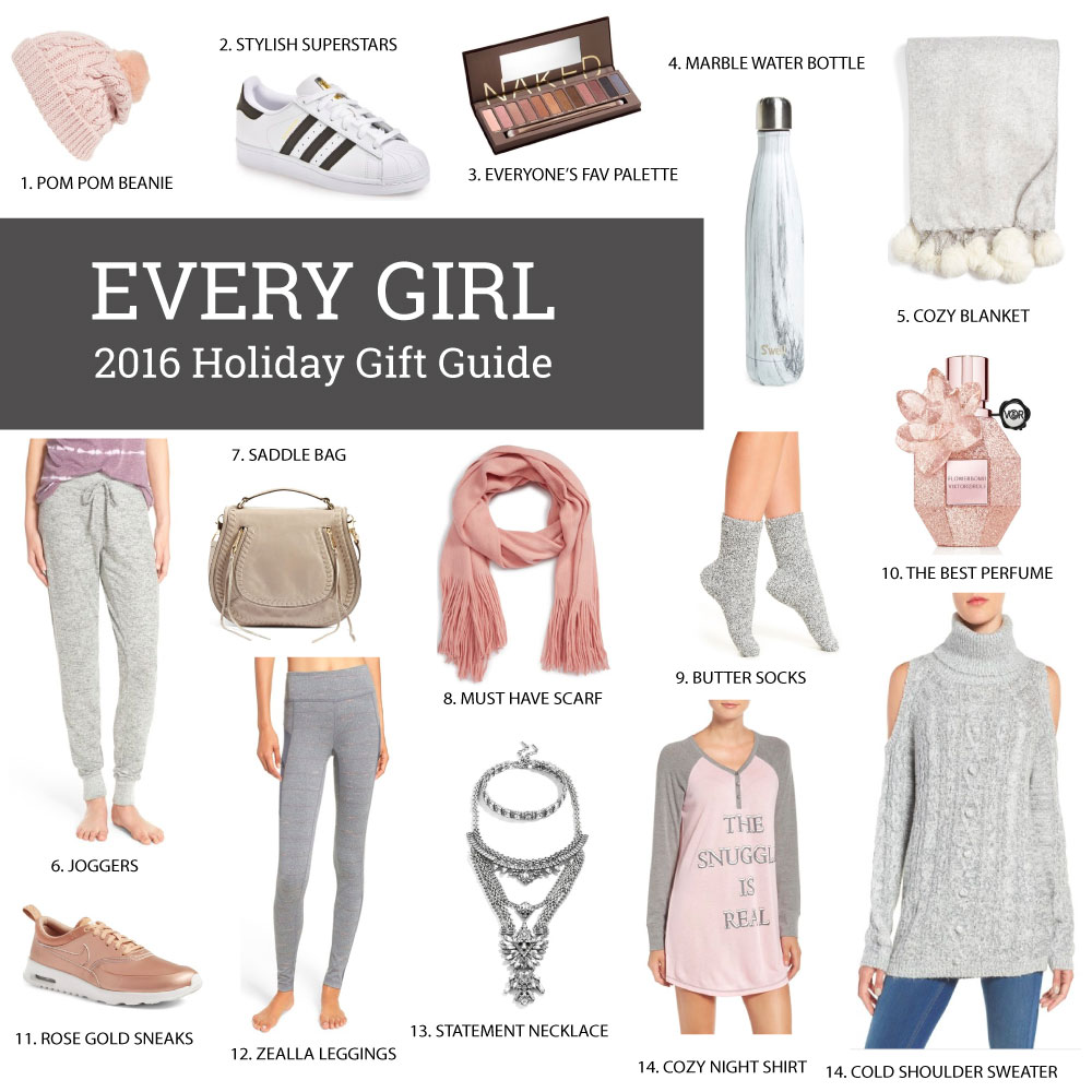 Gift Guide: Every Girl 2016