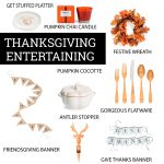 Everything You Need To Host Thanksgiving