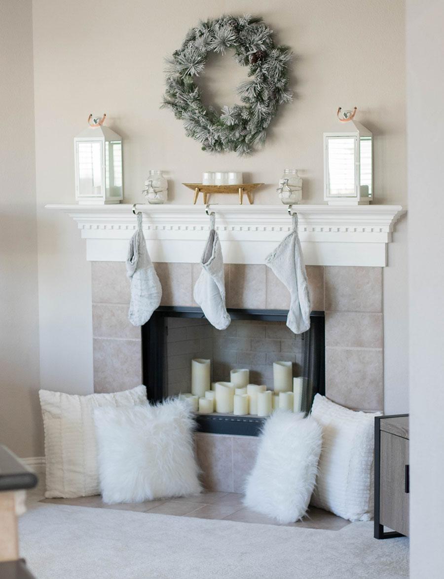 festive mantle
