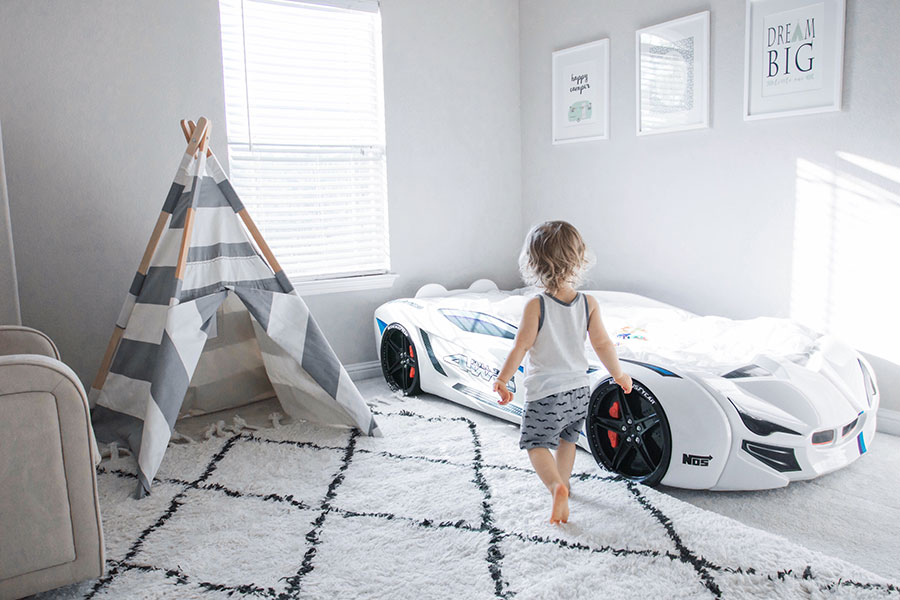 transition crib to toddler bed