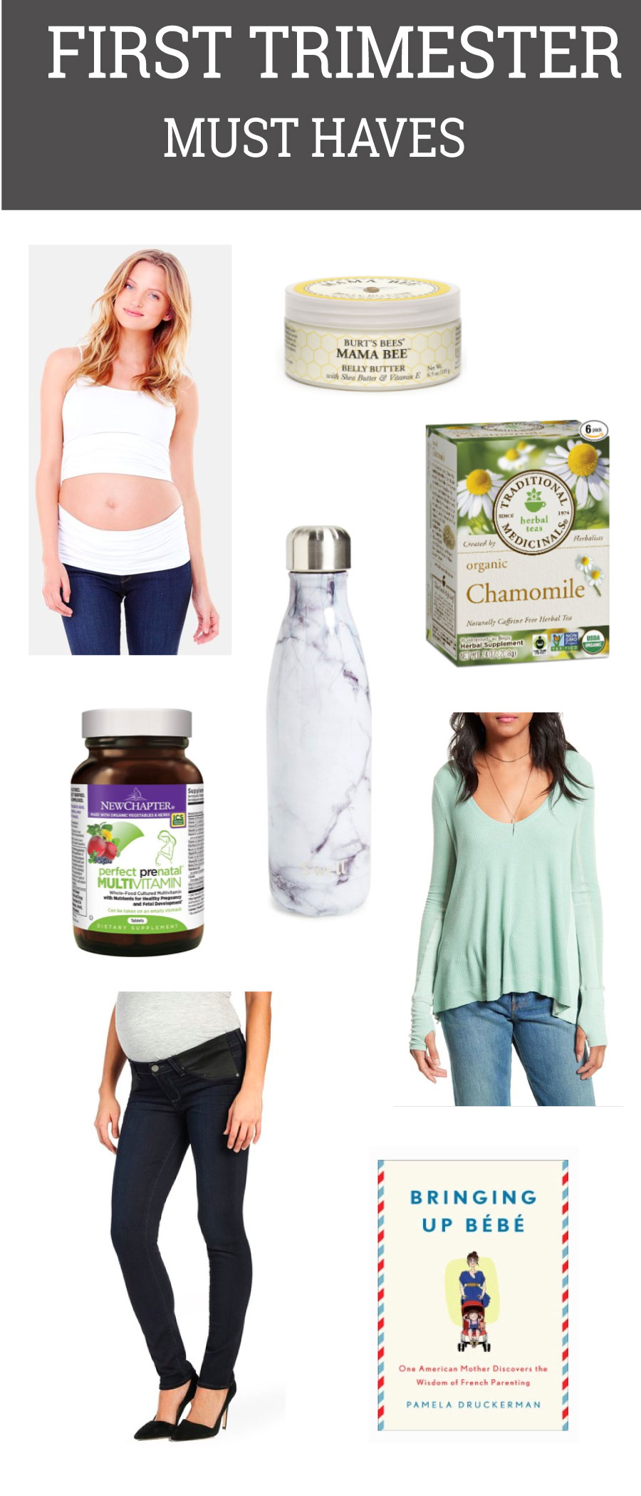 First Trimester Must Haves by popular blogger Life By Lee