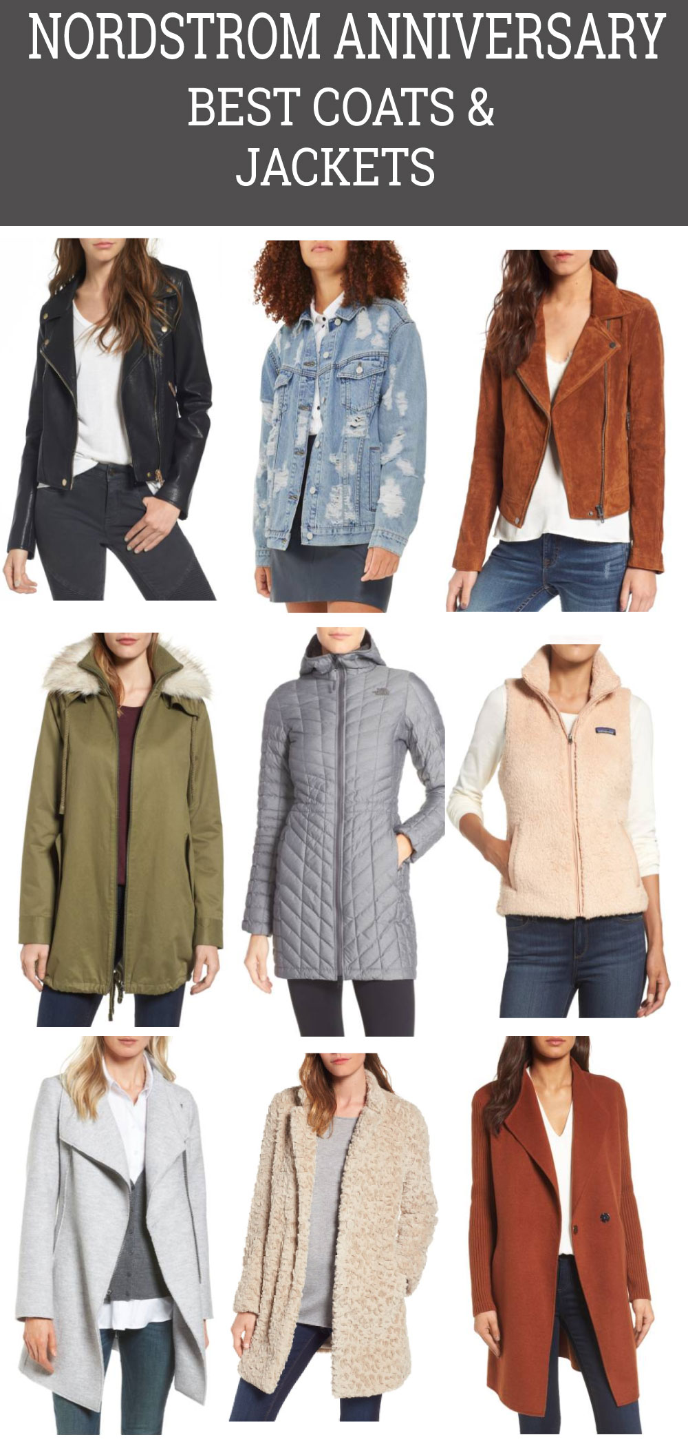 best coats and jackets Nordstrom Anniversary Sale