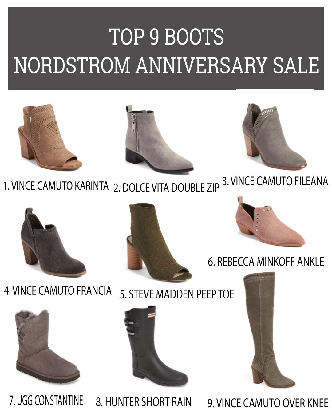 Best Boots 2017 Nordstrom Anniversary Sale