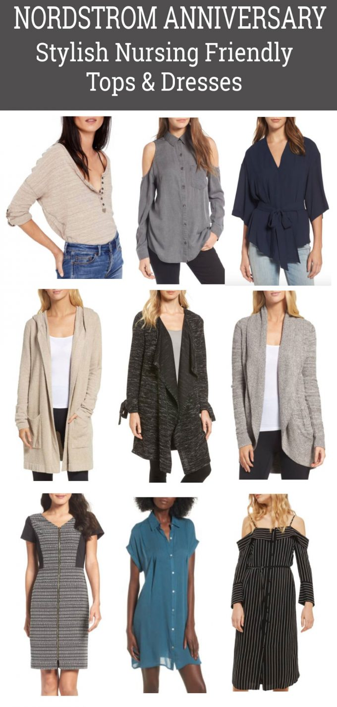 Nordstrom Anniversary Sale: Stylish Nursing Friendly Tops & Dresses