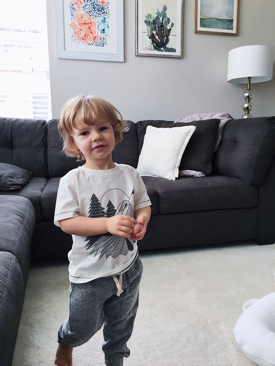 comfy baby and toddler clothes from Nordstrom