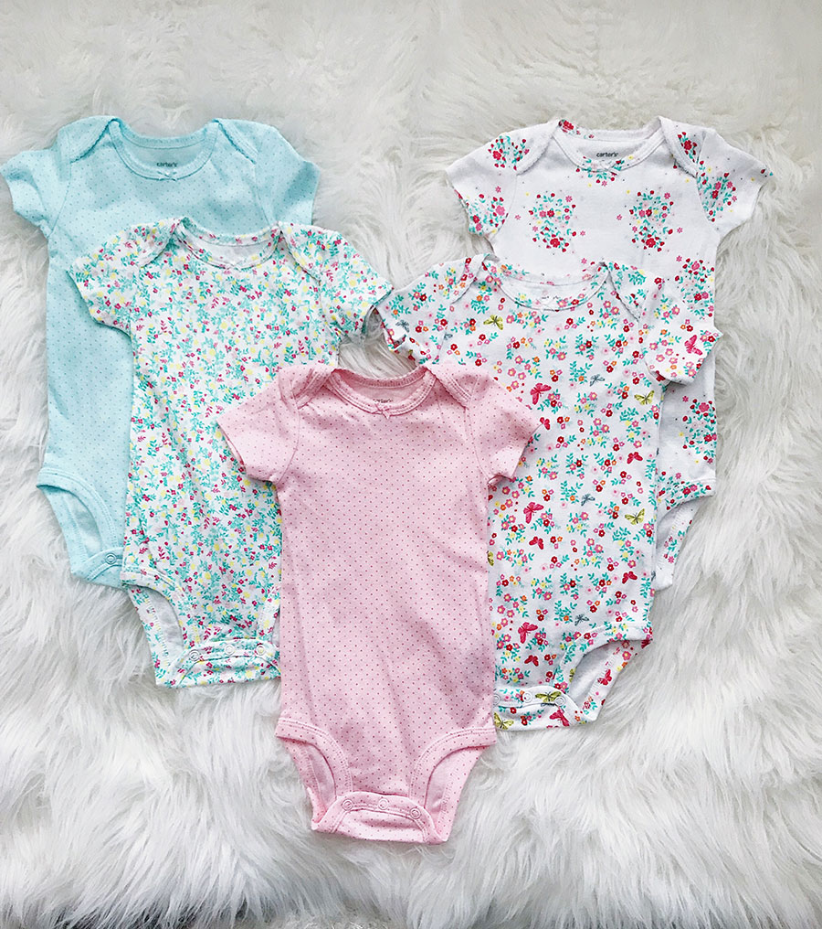 carters baby girl spring clothing