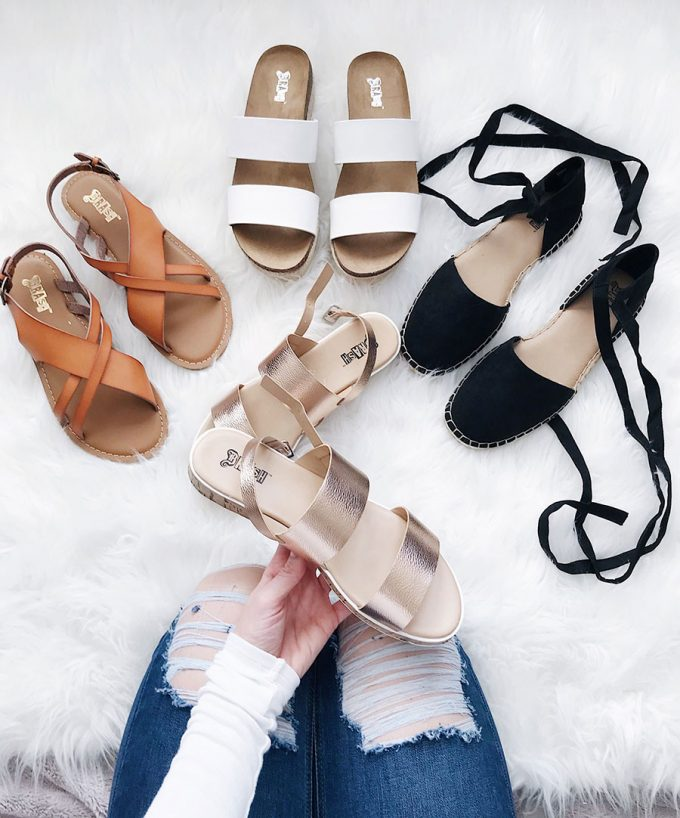 The Most Adorable Sandals For Spring & Summer