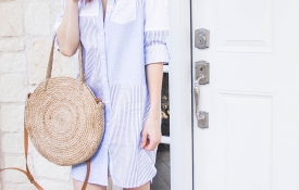 The Perfectly Casual Shirtdress