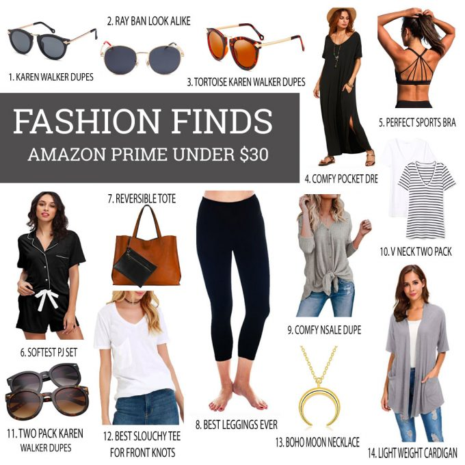 Amazon Prime Fashion Finds Under $30