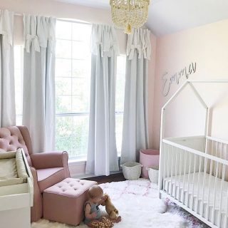 Blush Pink Nursery Tour