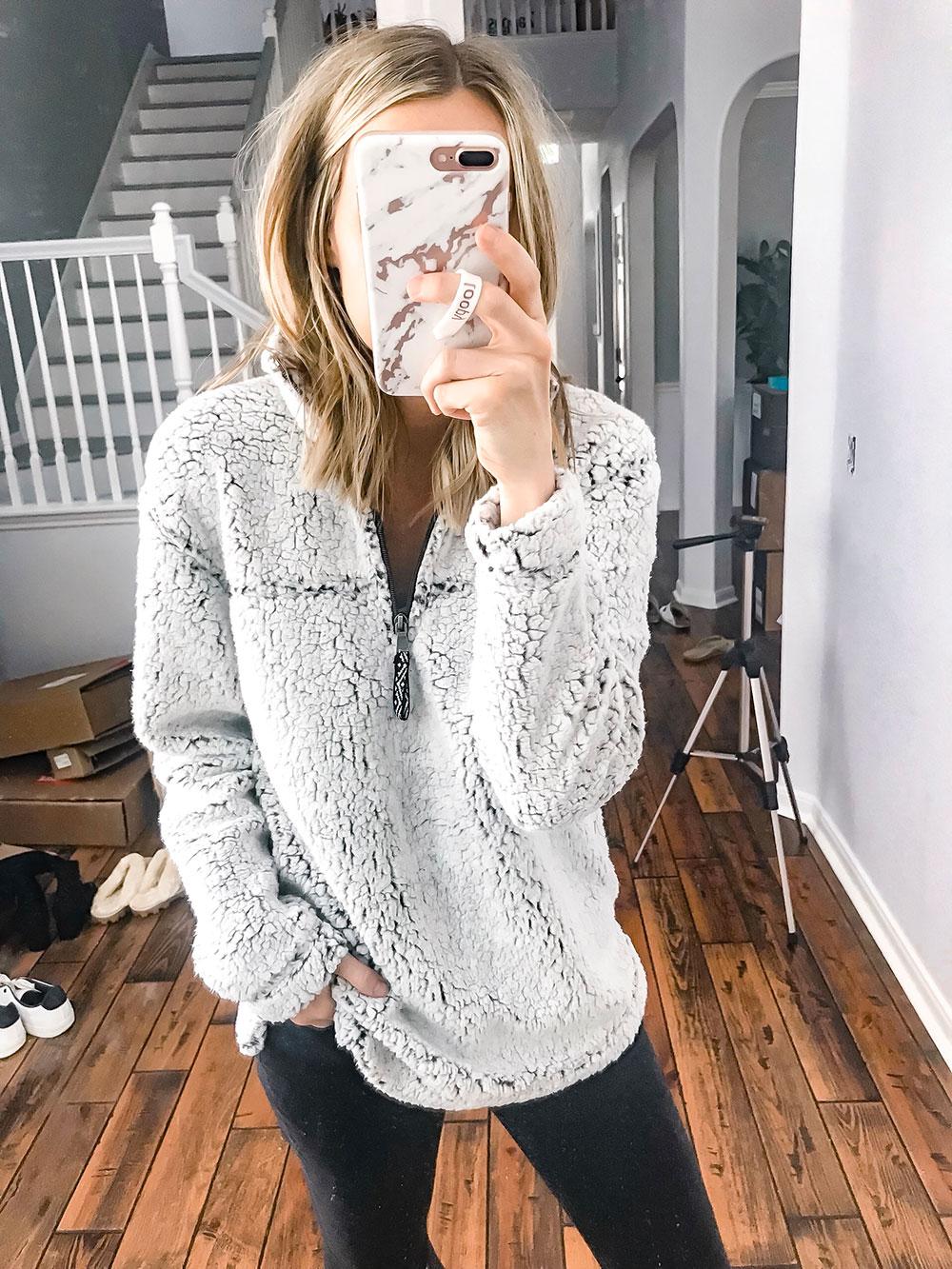 Amazon Sherpa Pullover
