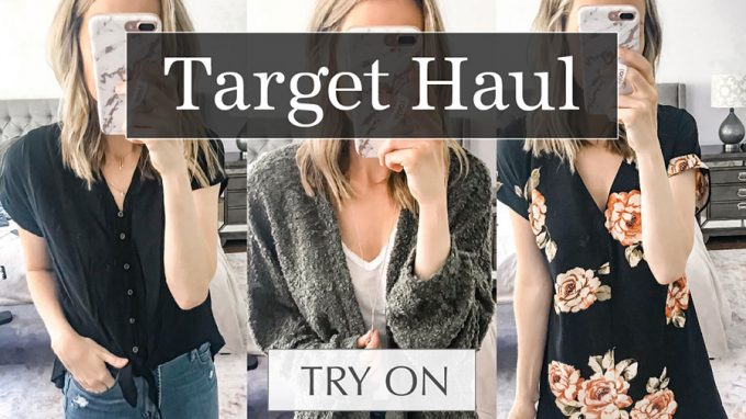 Huge Target Try On Haul