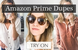 Amazon Prime Fashion Finds & Dupes Try On Video