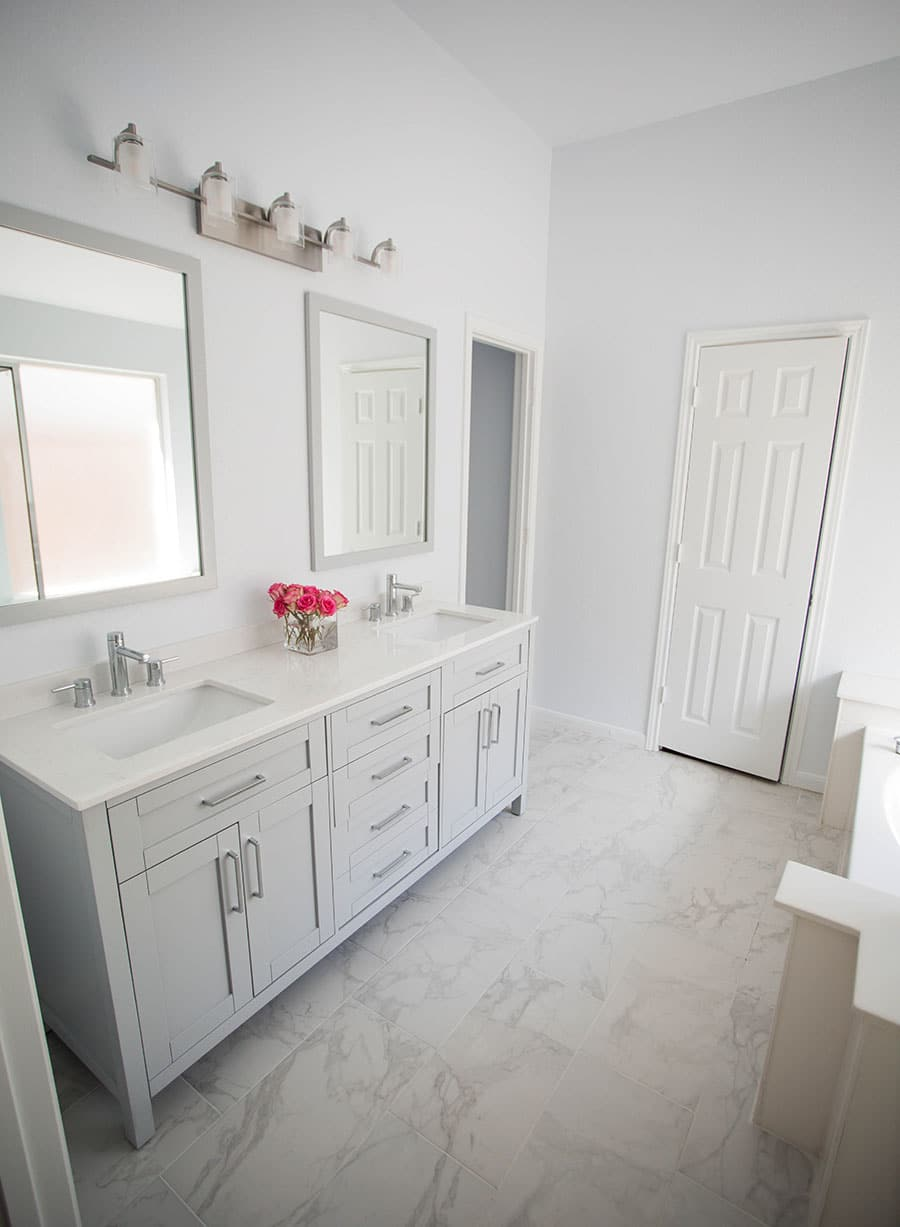 All Modern Bathroom Renovation