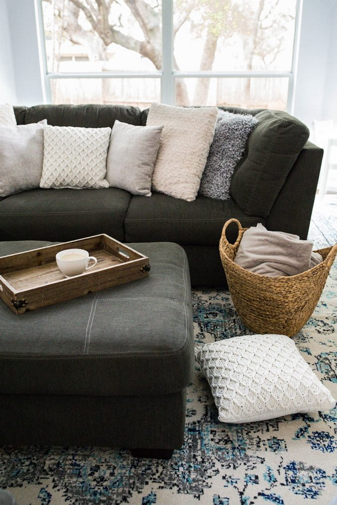Affordable Living Room Decor Update