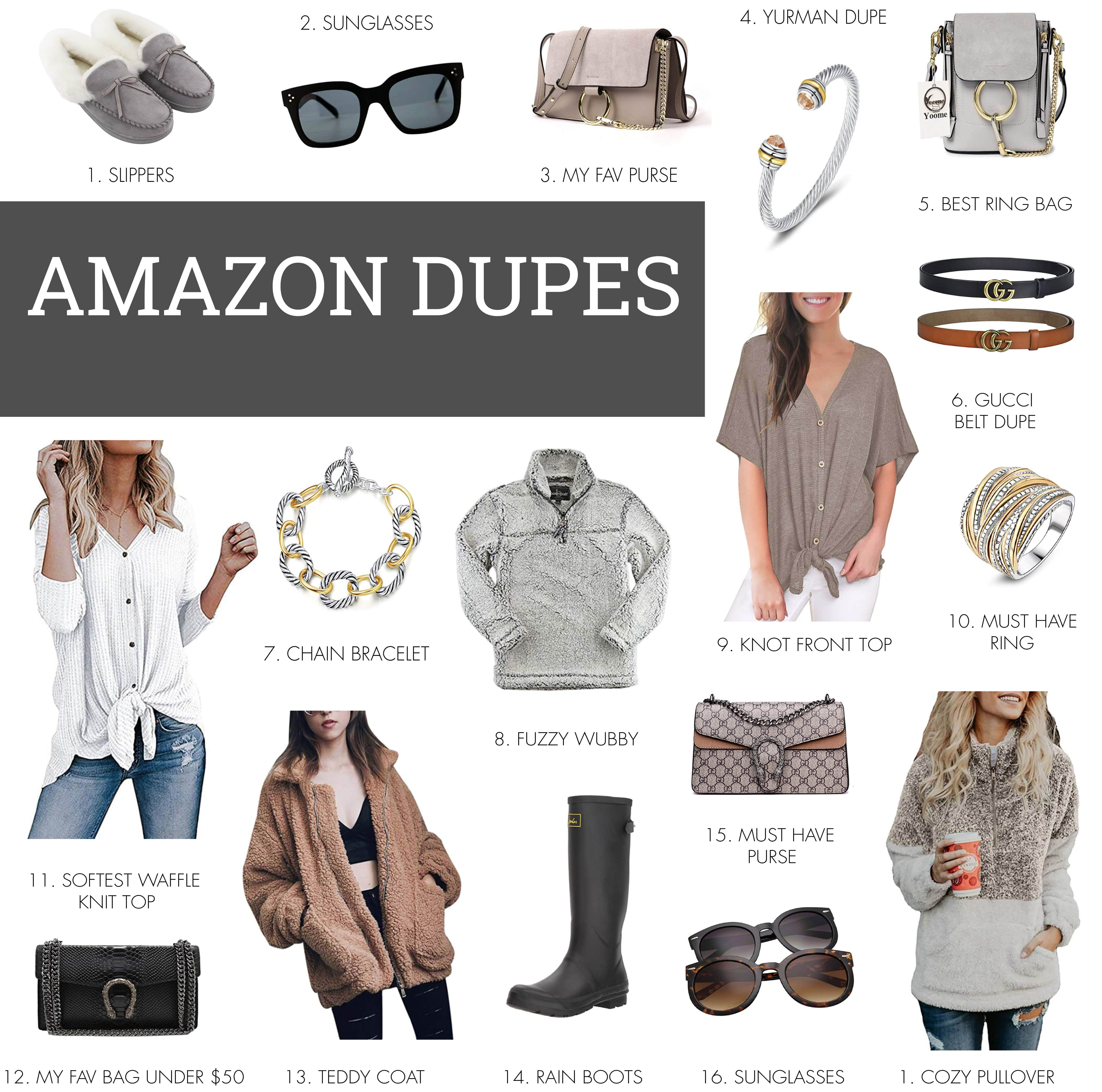 b6eac6cce My Favorite Amazon Designer Dupes | Life By Lee